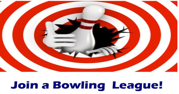 join a bowling league